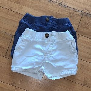 2 Pair of Carter's Shorts